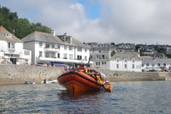 RNLI Rescue Practice with CCC, St Mawes.